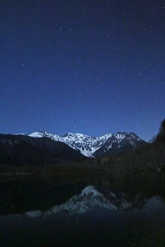 半月の大正池