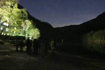 大正池ホテル×Vixen 星空案内人と楽しむ★星空ツアーを開催しました。