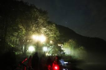 星空観察会を行いました。