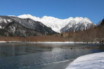 3月の大正池