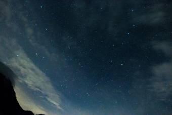 北斗七星の夜