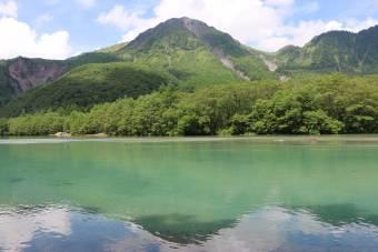 夏が近づく大正池